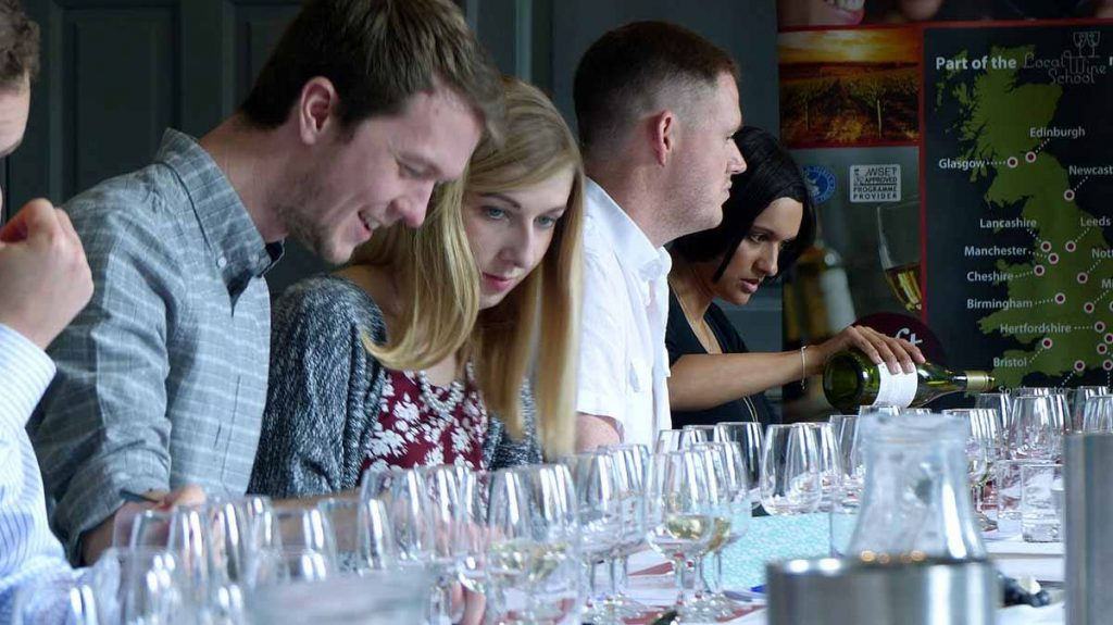 local wine school events